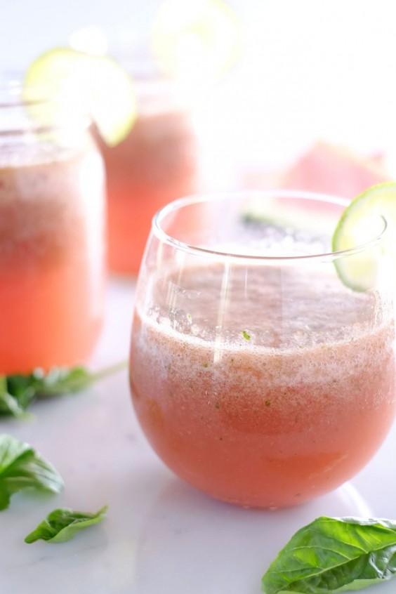 Picnic: Strawberry Basil Watermelon Aqua Fresca