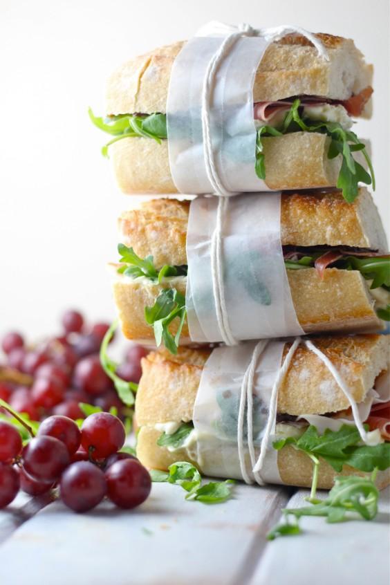 Brie, Prosciutto, and Fig Sandwich