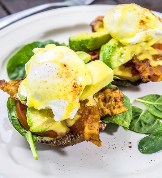 Low-Carb Breakfasts: Sunrise Benedict