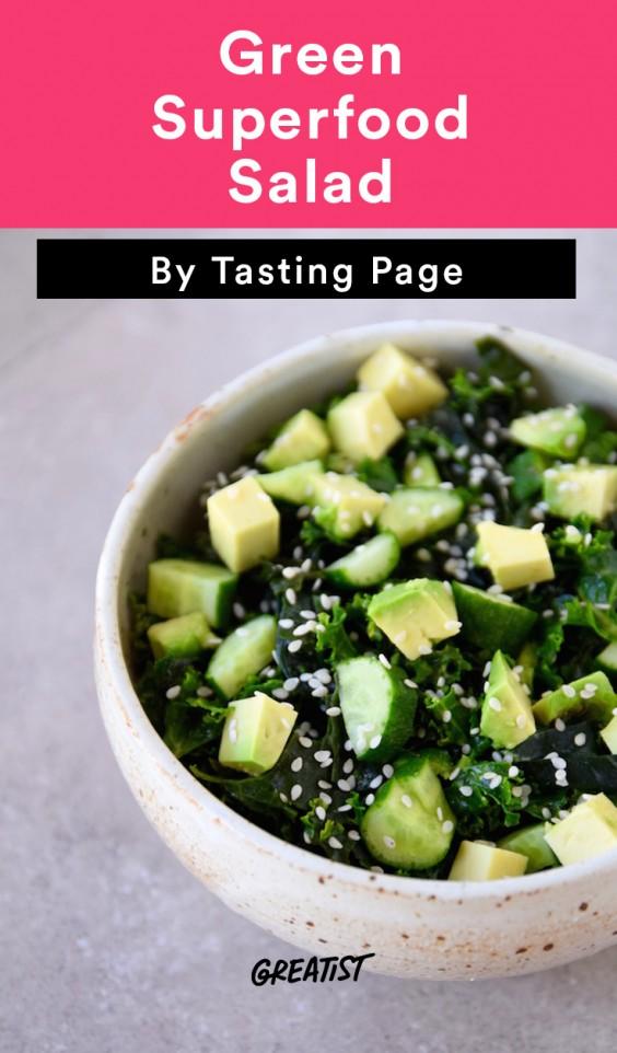 Green Superfood Salad