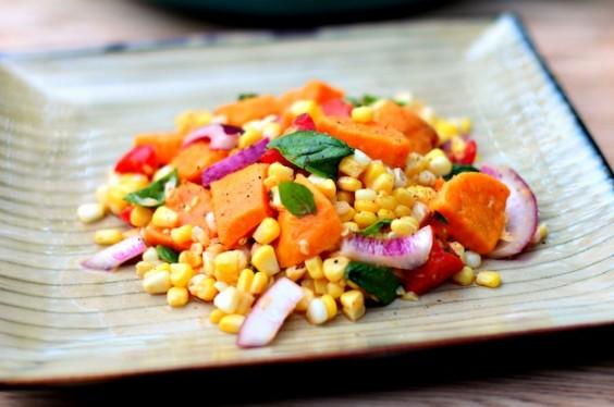 Sweet Potato Corn Salad