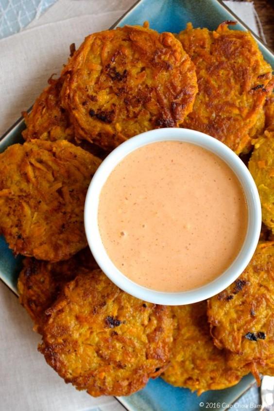 20. Sweet Potato Fritters