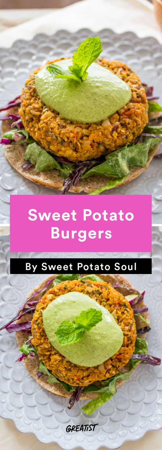 Sweet Potato Soul: Sweet Potato Burgers