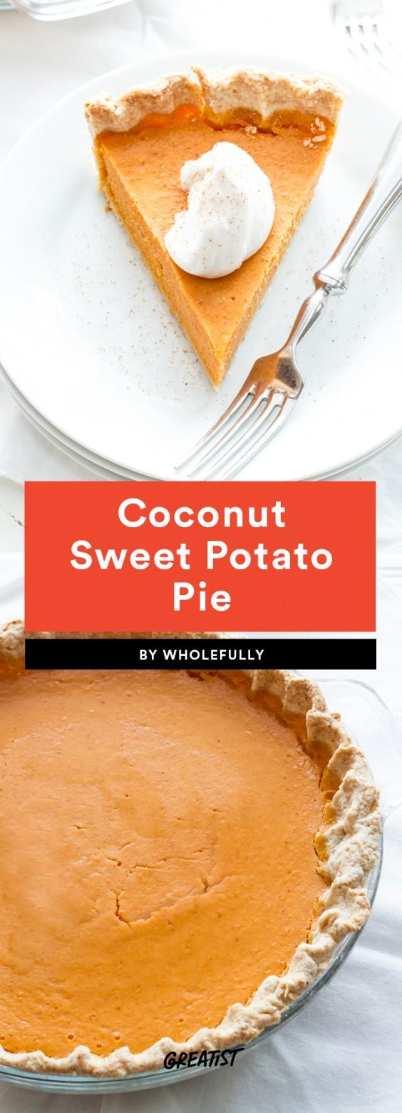Coconut Sweet Potato Pie