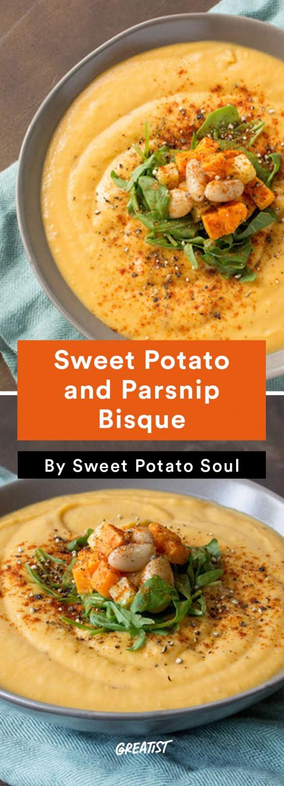 Sweet Potato Soul: bisque