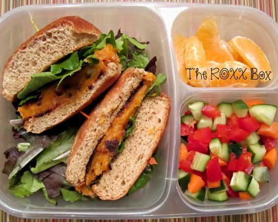 Sweet Potato Burger Bento & Bento Box Lunch Ideas: 25 Healthy and Photo-Worthy Bento Box ... Aboutintivar.Com