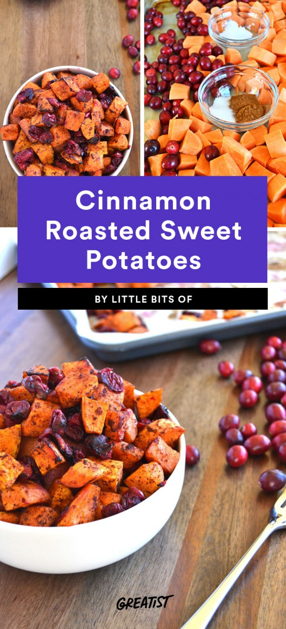 Cinnamon Roasted Sweet Potatoes Recipes