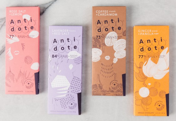 gift guide: Antidote Chocolate 4-Pack