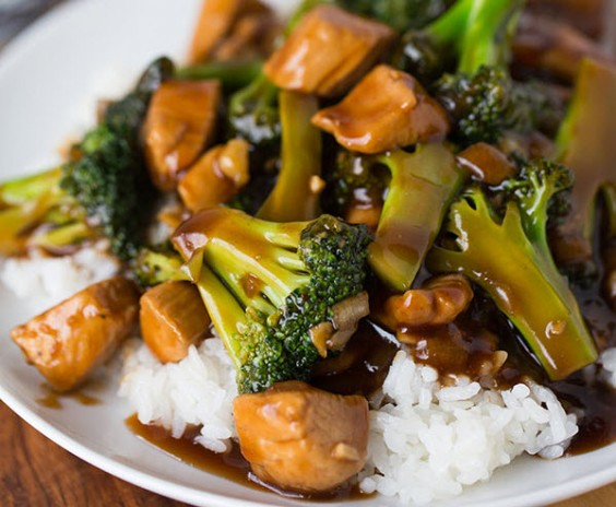 Easy 20-Minute Chicken and Broccoli