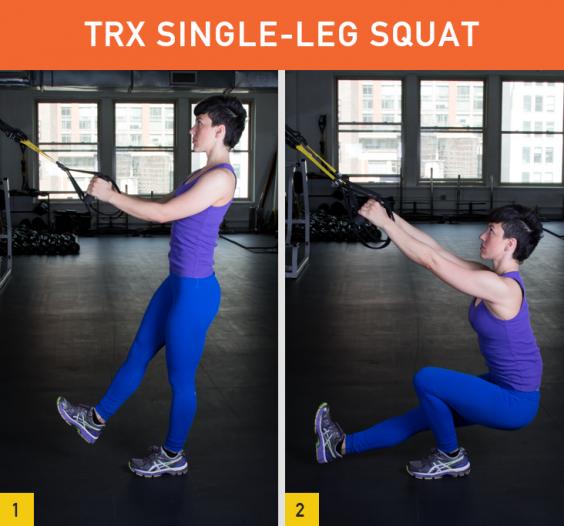TRX Single-Leg Squat