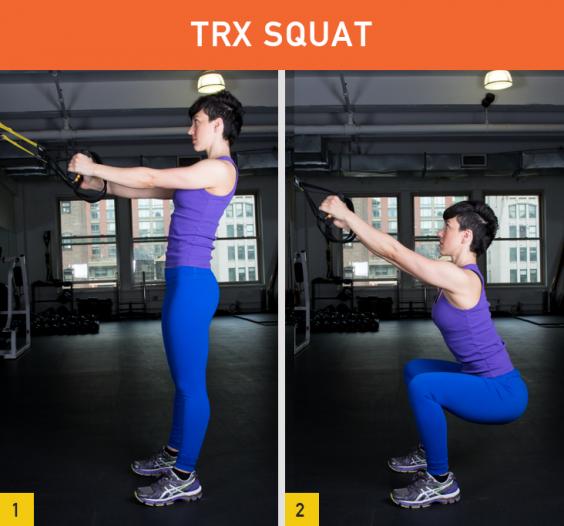 TRX Squat