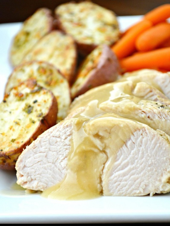 Tuscan Turkey Dinner With Roasted Red Potatoes