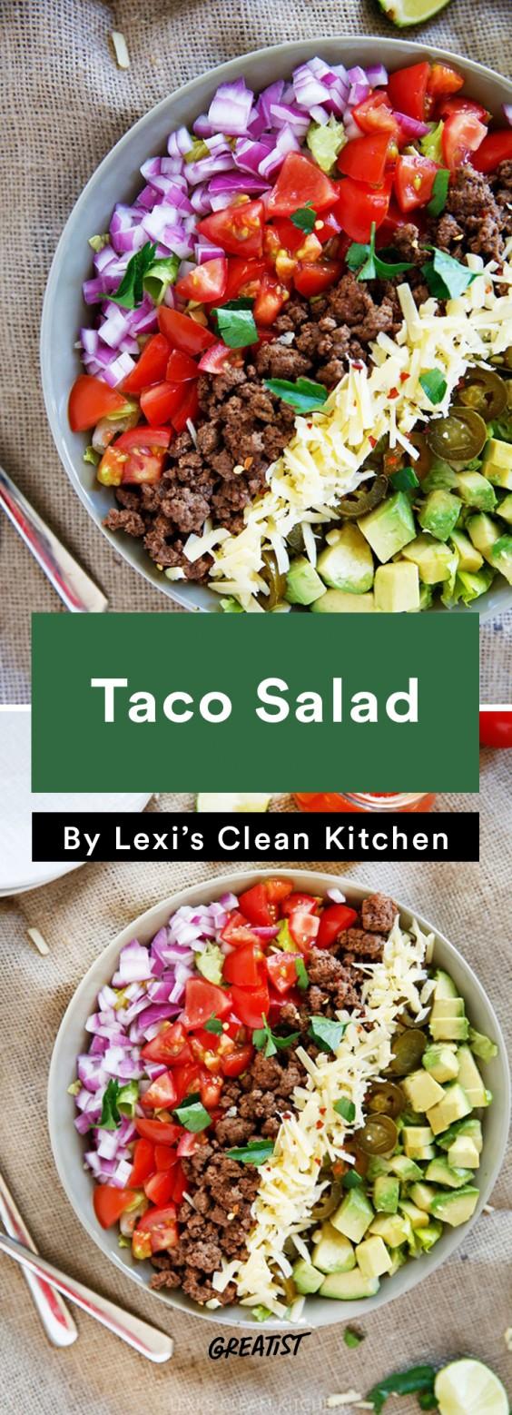 Lexi's Clean Kitchen Taco Salad
