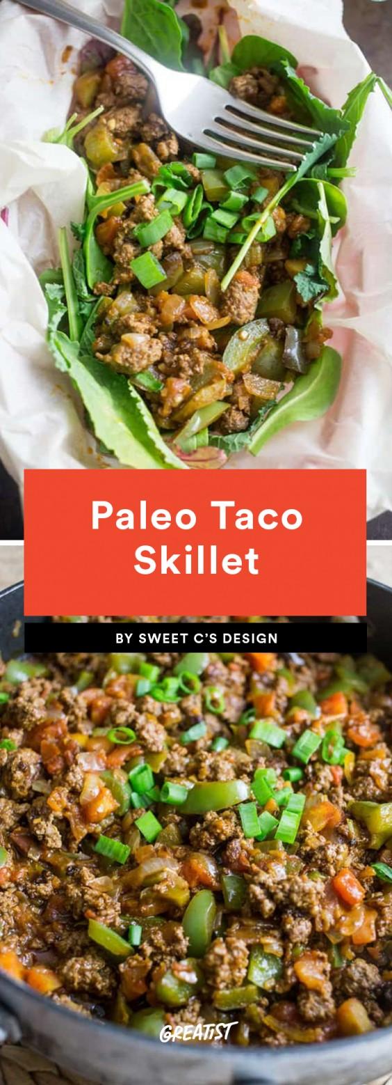 Paleo Taco Skillet
