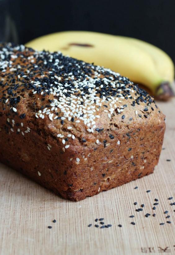 Tahini Uses: Tahini Banana Bread