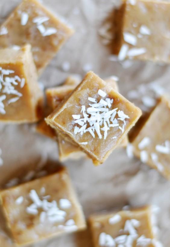Tahini Uses: Raw Tahini Date Fudge