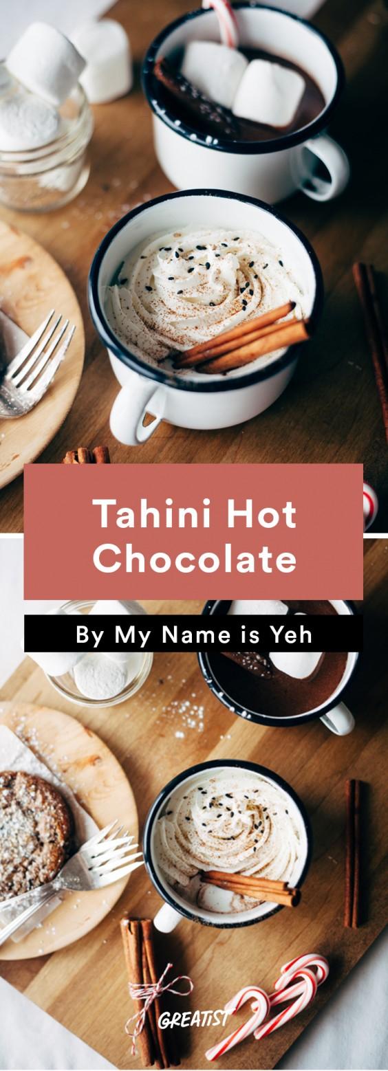 Not PSL: Tahini Hot Chocolate