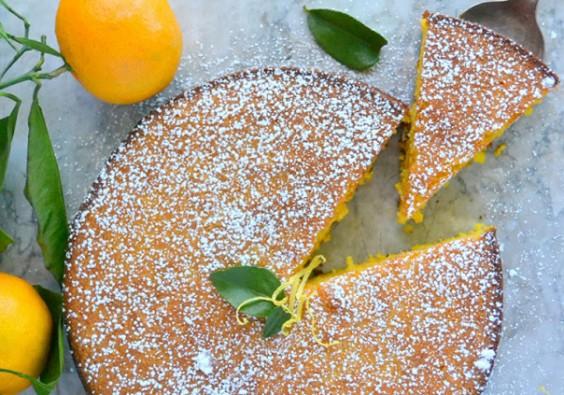 Торт мандарина