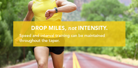 The Perfect Taper Intensity