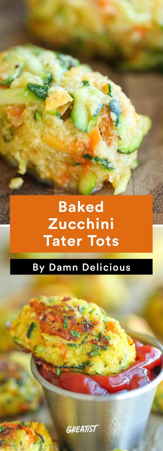 Zucchini Carbs: Tater Tots