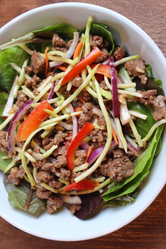 Ground Beef Recipes: Thai Beef Salad