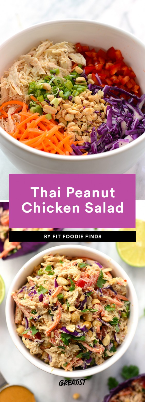 7 Healthier Chicken Salad Recipes That Aren't Just Buckets of Mayo - image 202230