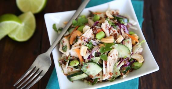 Healthy Thai Chicken Salad
