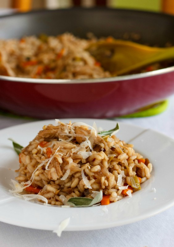 Leftover turkey recipes 23 healthier meals to eat after leftover thanksgiving turkey risotto forumfinder Image collections