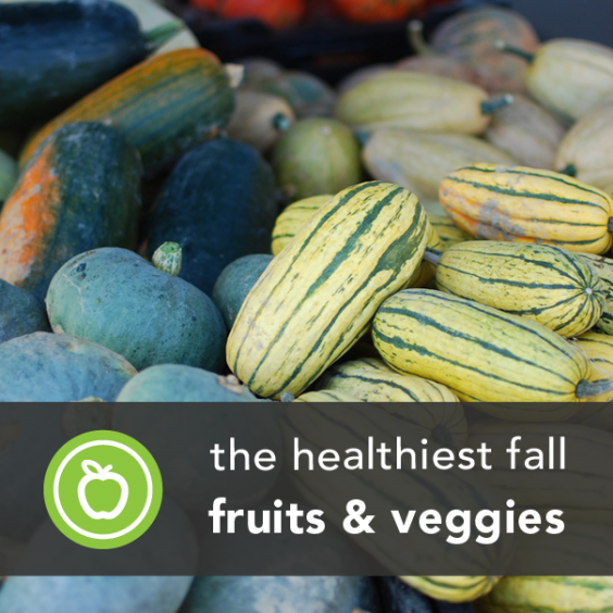 The Healthiest Fall Fruits and Veggies