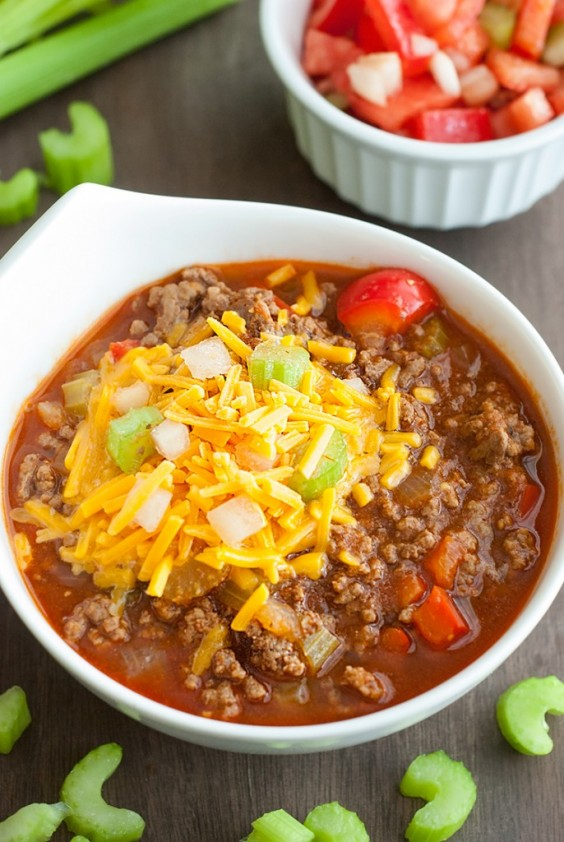 9. Low-Carb Chili