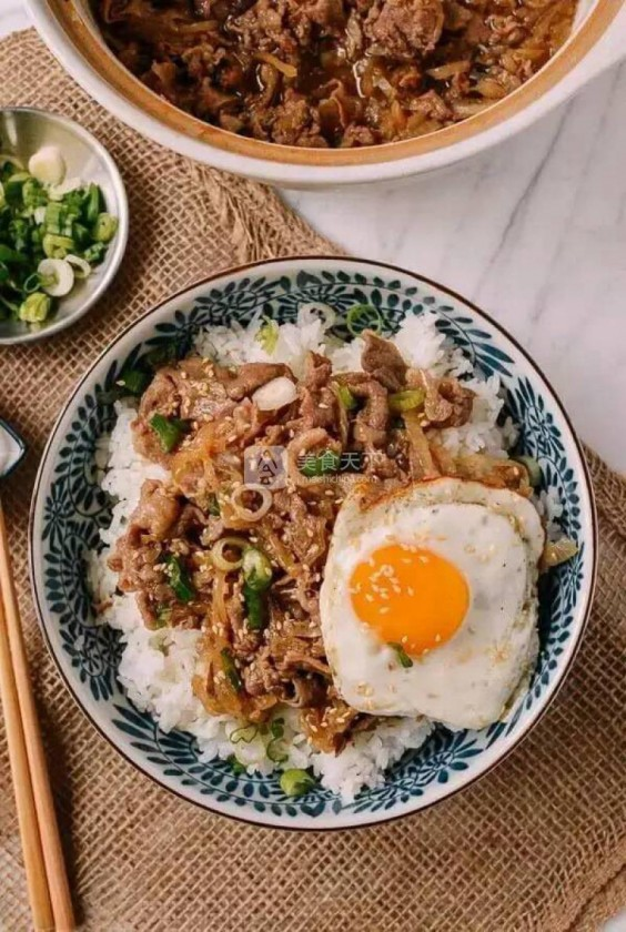 17. Gyudon (Japanese Beef and Rice Bowls)