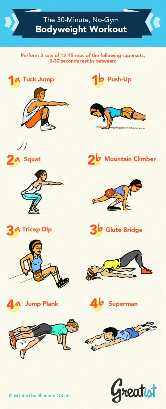 30 minute workout home
