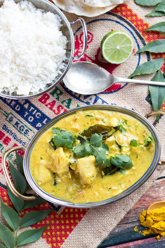 Paleo Dinners: Quick Fish Curry