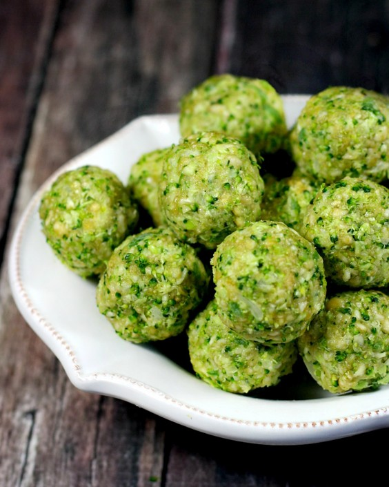 20 Gluten-Free Lunches: Clean Eating Raw Broccoli Balls
