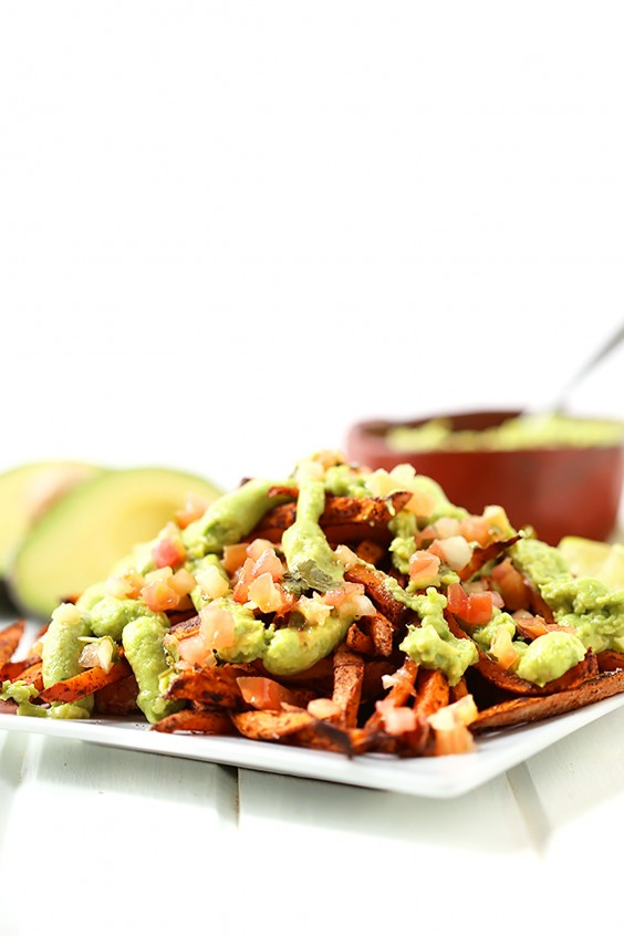 Whole30 Lunches: Guacamole Sweet Potato Fries