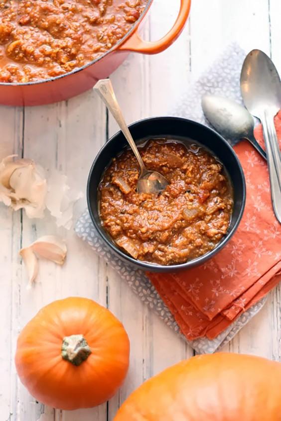 Paleo Dinners: Pumpkin Paleo Chili