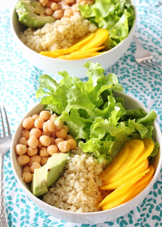 Healthy Grain Bowls: Millet Bowls with Crunchy Spicy Seeds