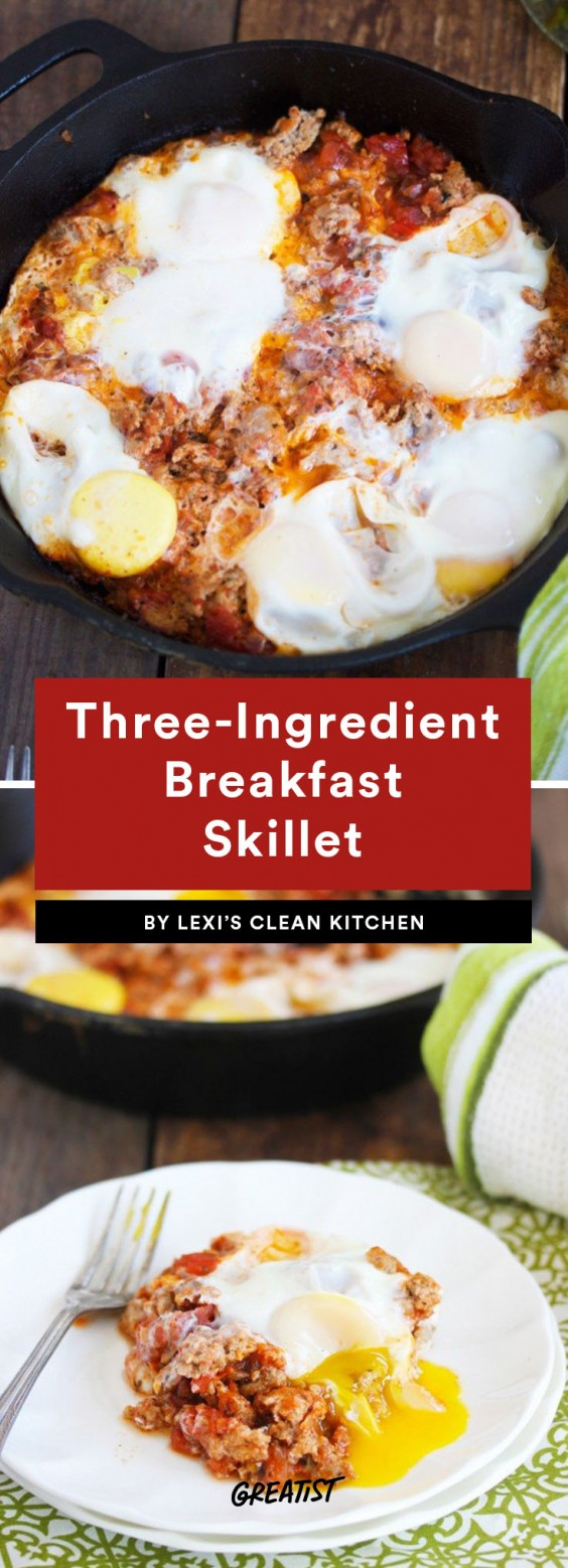 three ingredient breakfast: Breakfast Skillet