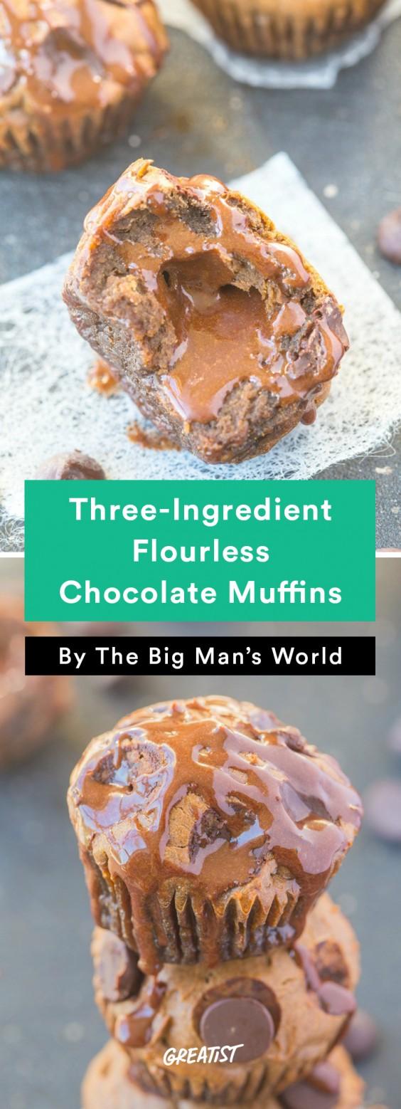 big mans world muffins: Chocolate