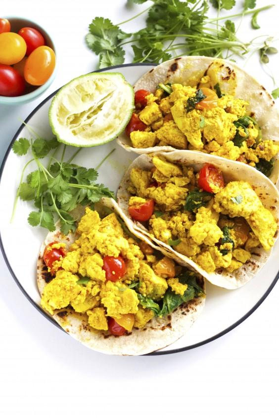 Tofu Breakfast Tacos Recipe