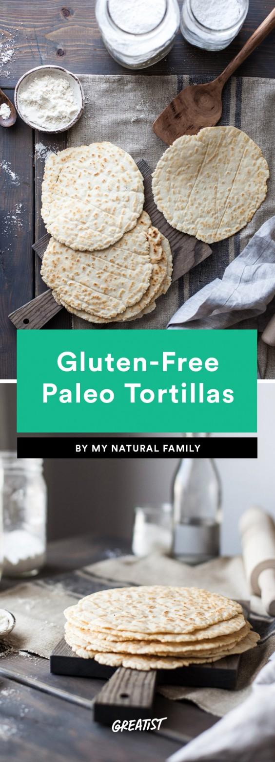Gluten-Free Paleo Tortillas