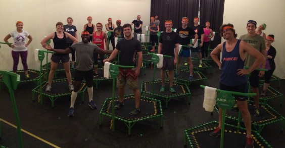 Tough Mudder Employees Working Out