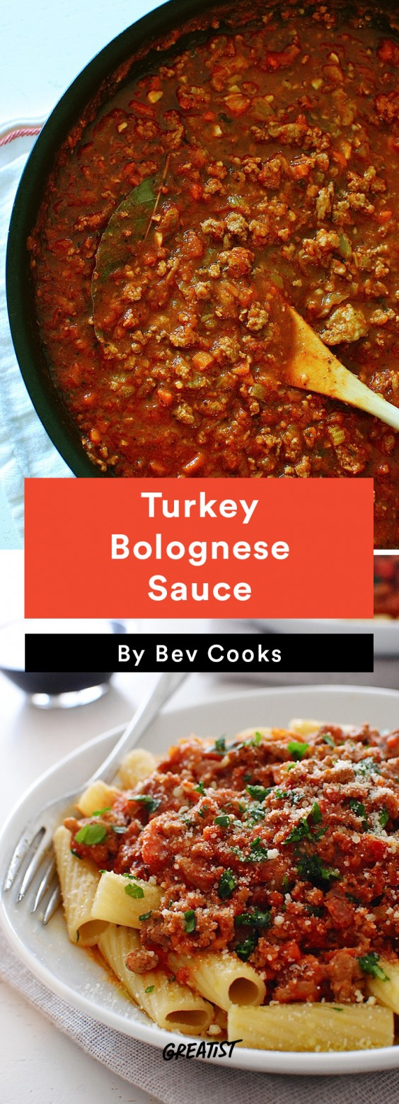 Turkey Bolognese Sauce Recipe