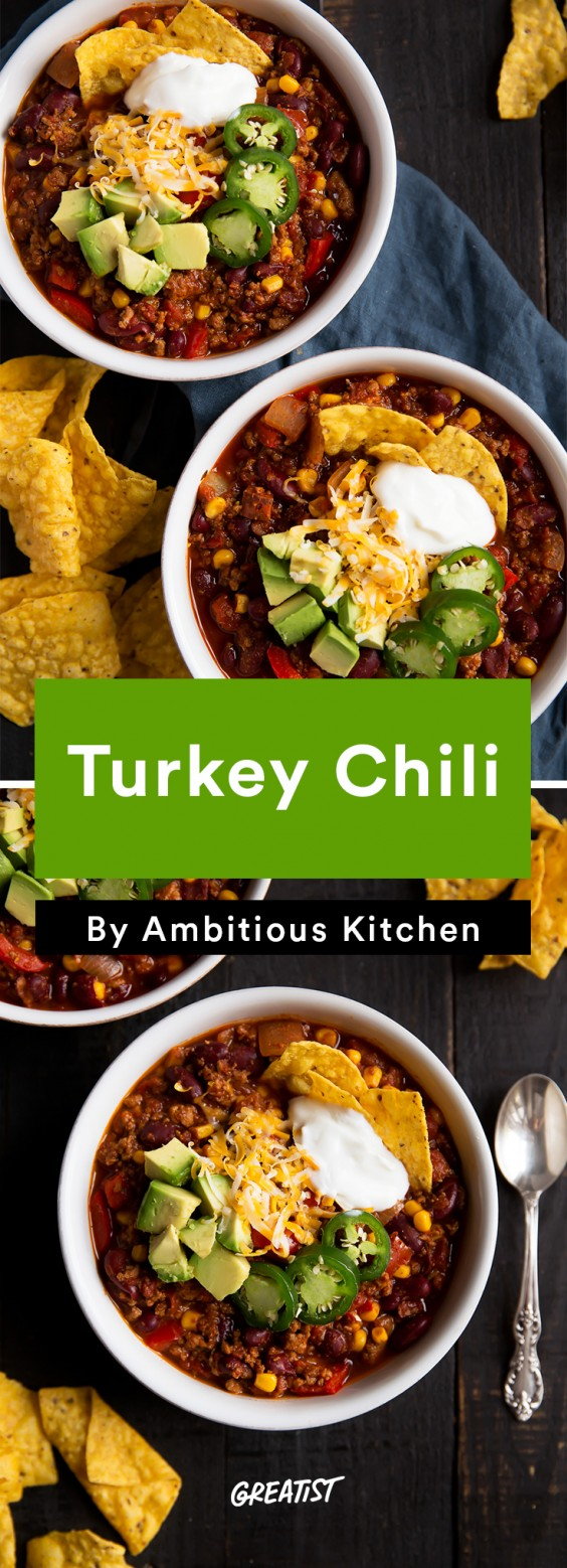 american comfort: Turkey Chili