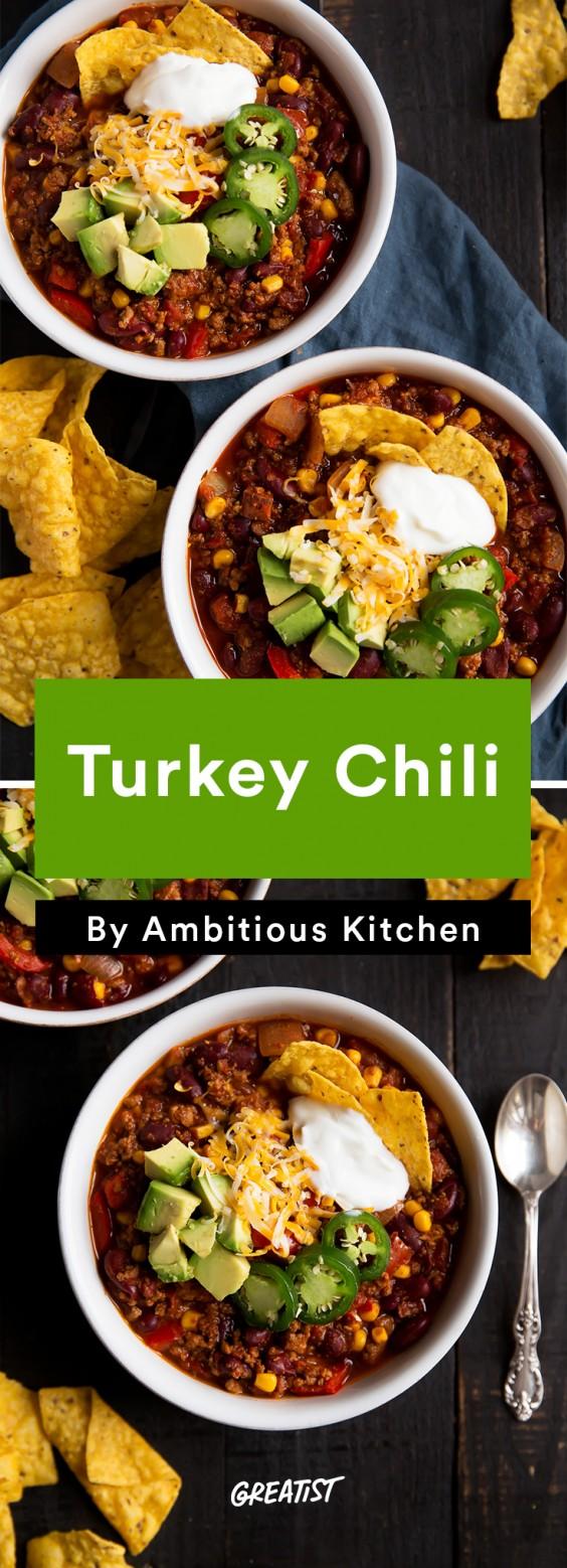american comfort: Turkey Chili