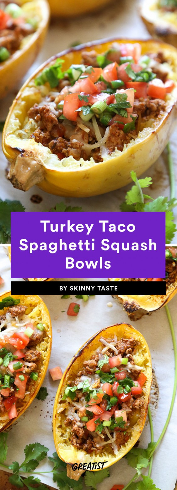 taco bowls: Turkey Taco