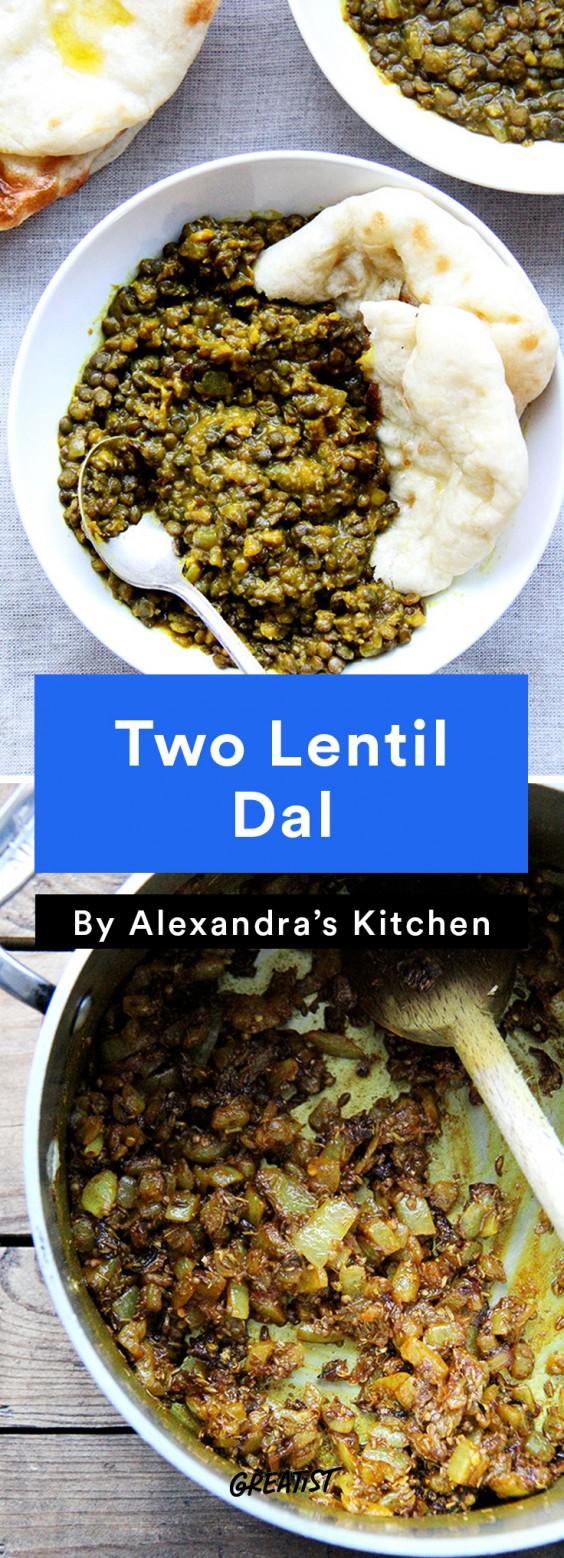 alexandra's kitchen: Two Lentil Dal