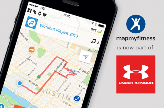 MapMyFitness is now part of Under Armor