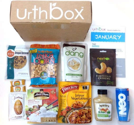 Subscription Box Healthy Snacks: UrthBox