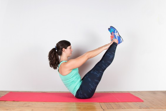 Core Exercises: The 21...V Ups Exercise